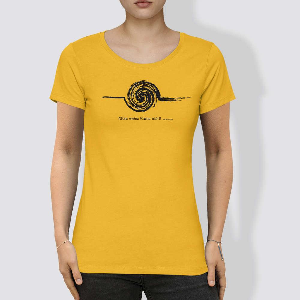 finest selection 80c65 0444e Frauen T-Shirt aus Bio-Baumwolle mit U-Ausschnitt